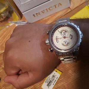NWT Invicta Aviator Chronograph Watch 28143